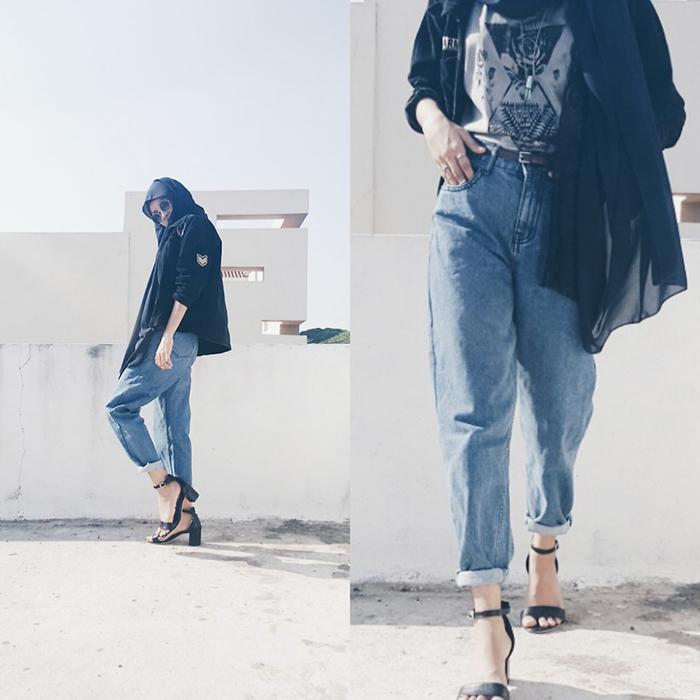 4908729 PicsArt 1462128027796 - ست کردن شلوار مام استایل با کفش و لباس به چه صورت است؟