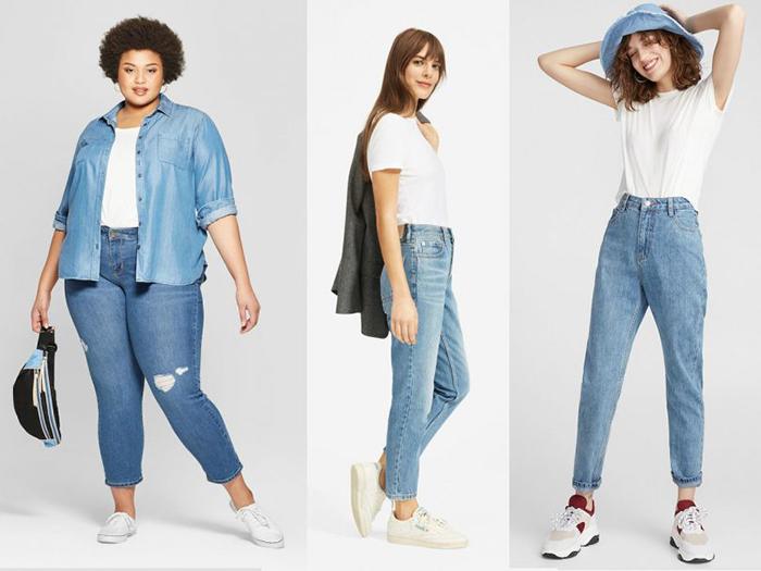 Mom jeans feature image 810x608 1 - ست کردن شلوار مام استایل با کفش و لباس به چه صورت است؟
